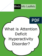 (Psychology, Self-help) What is Attention Deficit Hyperactivity Disorder (ADHD)