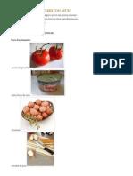 Tomates Suoffle Con Atun