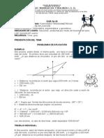 MATEMATICAS 10º 2BIM GUIA 29 PROBLEMAS DE APLICACION