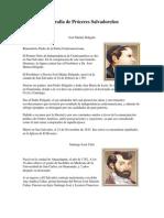 Biografía de Próceres Salvadoreños