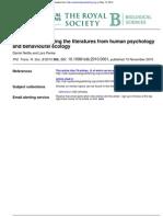 human psychology behavioural ecology.pdf