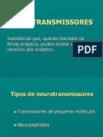 Aula 03 - Neurotransmissores