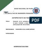 Anteproyecto de FormuLACION - SANTIAGO