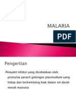 Malaria slide