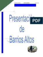 Mercedarios Barrios Altos