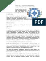 LOS MÉTODOS DE LA INVESTIGACIÓN CIENTÍFICA