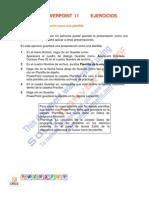 PowerPoint I I Leccion 11 Ejercicios