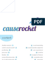 Causerocket Plans Book