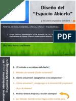 ARQUITECTURA DEL PAISAJE MARZO 2013 metodología de diseño