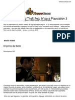 Guia Trucoteca Grand Theft Auto IV Playstation 3