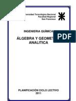 Algebra y Geometria Analitica_V_2011