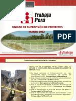 Supervision de Proyectos Trabaja Peru