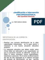La Intervencion Psicopedagogica Superdotados=)
