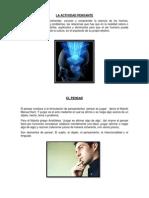 ACTIVIDAD PENSANTE -Metodologia