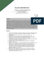 Bibliography - Tilapia