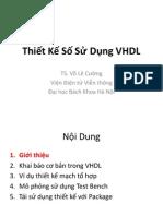 Thiet Ke So Su Dung VHDL