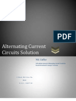 Alternating Current Circuit Solution Manual-Corcoran