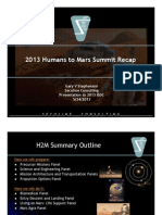2013-05-24 ISDC H2M Recap