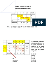 Ejemplo de Procedimiento de Optimizacion