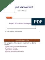 project managent (procurement)