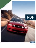 2013 Mustang Brochure