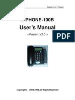 Sinov-100b Ipphone Manual