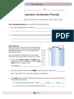 Archimedes Principles e