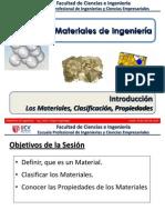 Sem 1.1 - IM I - UCV - Introducción, Los Materiales