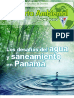 Los desafíos del agua y saneamiento en Panamá