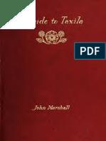 A Guide to Taxila. Sir John H. Marshall 1918