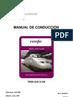 Manual de Conduccion Del Tren S-100. 06-01