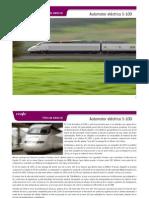 Ficha de Material. Automotor Electrico S-100