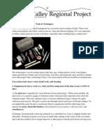 JVRP 2013 Handout - Tools and Techniques