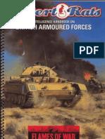 WD104 Flames of War - Desert Rats