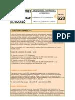 INSTRUCCIONES PARA Cumplimentar El Modelo 620