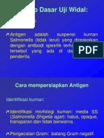 Uji Serologis Widal [Dr. Rini Sp. PK]_2