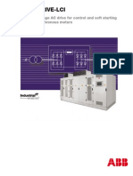 Medium Voltage AC Drive for Control and Soft Starting of Large Synchronous Motors