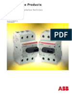 Rotary Type Installation Switches 16...160 a, 500 V