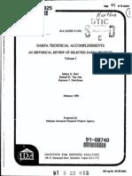 DARPA accomplishments Vol 3