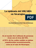 La Epidemia Del VIH_SIDA en Nicaragua_ANICP_VIDA