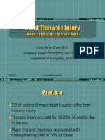 Blunt Thoracic Injury