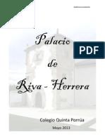Historia Del Palacio Riva - Herrera