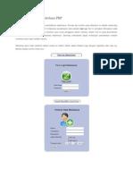 Sistem Pendaftaran Sederhana PHP