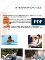 Personas Vulnerable