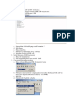 Cara menggunakan USB ASP dari DS Electronics.docx