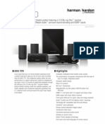 Specification Sheet - BDS 770 (English EU)