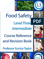 Food Safety Level 3 (Intermediate) Sample (low resolution)