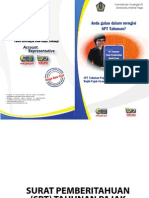 Buku Spt Tahunan Pph Wp Op 2013