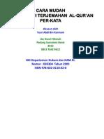 JUZ 1 Terjemahan Per Kata Bahasa Indonesia