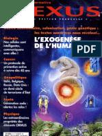 Nexus 50 mai juin 2007 - exogenèse humaine, cellules communicantes, cancer, terrorisme d'état, sodas, ormus